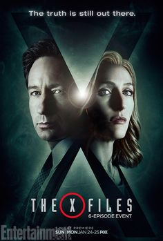 We've seen the future, and the future looks just like this poster. Exclusive new X-Fileskey art findsagents Fox Mulder (David Duchovny) and Dana Scully (Gillian Anderson) back in …