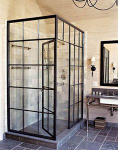 Awesome shower.