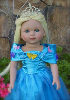 18 inch doll clothes and 18 inch dolls the size of American Girl. Visit www.harmonyclubdolls.com