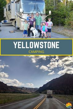 Check out this amazing guide to camping in Yellowstone, one of America's most beautiful National Parks. Our vacation tips for Yellowstone include where to stay and some great food and gear to bring along for adults and kids. Camping allows for travel on a Kids Camping Gear, Camping Places, Camping Guide, Camping Spots, Camping World, Camping Checklist, Camping Packing, Packing Lists, Family Camping
