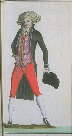 Magasin des Modes, February 1788.