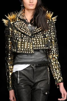 The 80s - always trying for a comeback! Frankie Morello Fall 2012