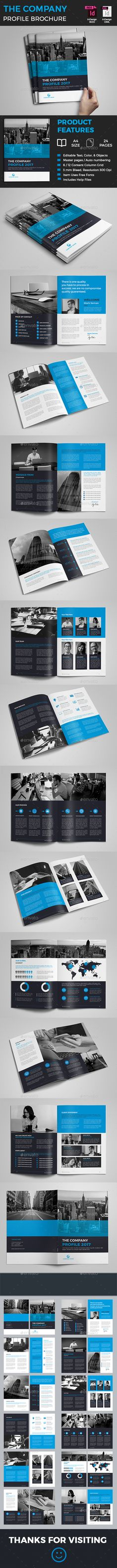 The Company Profile Pinterest Company profile, Brochures and