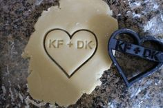 Cookie Cutter Personalized Valentines Day Cookie Cutter Custom