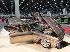 65 Chevy Impala - The Imposter - Chip Foose Design - Pamukkopek 1965 Chevy Impala, Chevrolet Impala, Gm Car, Chip Foose, American Muscle Cars, Hot Cars, Custom Cars, Hot Wheels, Dream Cars
