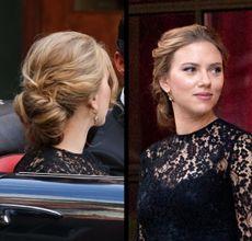 Scarlett Johansson's Sexy Updo