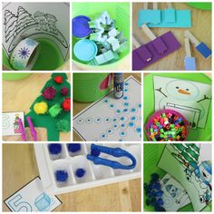 Little Minds at Work: Explore Tubs - Set Three {lots of freebies included}