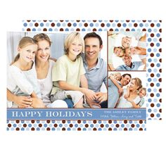 Send love and joy this holiday season with our personalized family holiday cards!