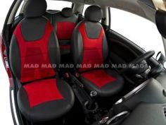 View the wide tailor made collections of car seat covers MINI. Available in different colors and design. Maserati, Porsche, Customize Your Car, Bmw, Seat Covers, Red Leather, Baby Car Seats, Mini, Collections
