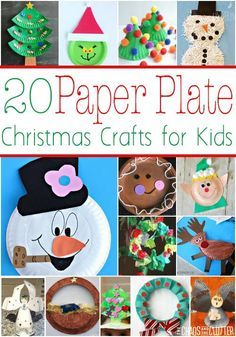 Paper Plate Christma