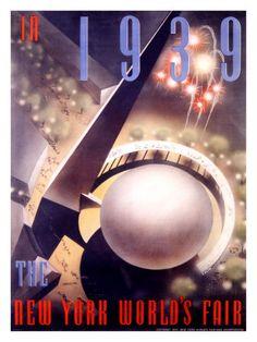 World's Fair, New York, c.1939  Giclee Print  by Nembhard Culin