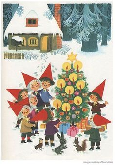 It's a Mary Blair kind of Christmas! - YUK FUN BLOG