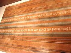 Textil de la cultura Chachapoya  Peru  700 a 1500  DC