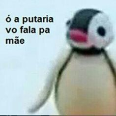 Eita é treta Pingu Pingu, Pingu Memes, Dankest Memes, Funny Memes, Memes Status, Little Bit, Cartoon Memes, Meme Faces, Reaction Pictures