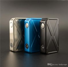 Authentic Tesla Invader III 240W Box Mod Invader 3 VV VW Dual 18650 Sub Vaporizer Mod for 510 Thread DHL Free Online with $29.95/Piece on Teslavape's Store | DHgate.com
