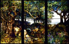 Louis Comfort Tiffany - stained glass