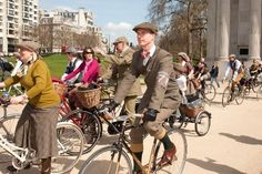 Rugby Ralph Lauren Bring Tweed Run to New York | Por Homme - Men's Lifestyle, Fashion, Footwear and Culture Magazine