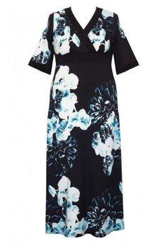 Plus-Size Blog - SusieKnows... Fashion Anna Scholz silk dress www.annascholz.com