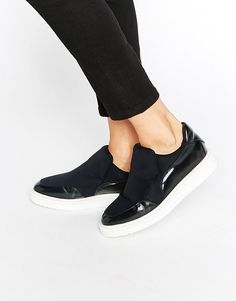 Selected Femme Sandra Slip On Skater Shoes