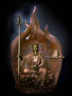 林韋龍 限量原作銅雕~焱光之藏 (地藏王菩薩)