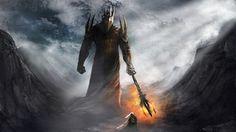 Morgoth vs Fingolfin wallpaper