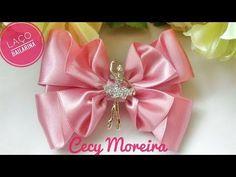 Laço Bailarina By Cecy Moreira - YouTube