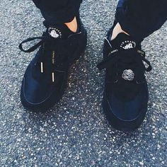 check out 9d12e d026c Triple Black, Nike Air Huarache, Huaraches, Sneaker Boots, Me Too Shoes,  Kicks
