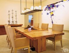 Modern Dining Room by Douglas Durkin Design and Sandy Walker in San Francisco, CA