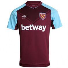 West Ham United Heimtrikot 17-18 Kurzarm