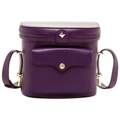 Pre-owned Rebecca Minkoff Darling New Collin Camera Leather Shoulder... (260 CAD) ❤ liked on Polyvore featuring bags, handbags, shoulder bags, plum, genuine leather handbags, shoulder strap handbags, rebecca minkoff shoulder bag, purple handbags and purple leather purse