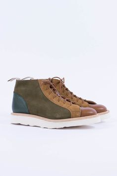Tricker's + Bureau Monkey boot