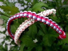 Design by Suzi: Macramé: Uzlíkový štvorcový náramok Square Knot Bracelets, Bracelet Knots, Friendship Bracelets, Jewelry, Design, Jewlery, Jewerly, Schmuck