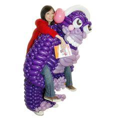 Purple Violet Entries 3rd Place Balloon Piggyback Gorilla  Ka Ho Chan Tai Kok Sui, Hong Kong