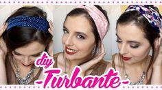 DIY Turbante de Cabelo - Fácil (+ variações)