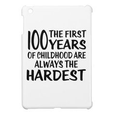 #100 The First  Years Birthday Designs iPad Mini Covers - #birthday #gifts #giftideas #present #party