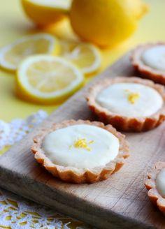 Lemon Cream Tartlets