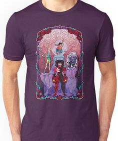 The Crystal Gems Unisex T-Shirt