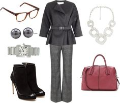 """Ode to Olivia Pope - Winter 2013"" by quasdorf on Polyvore"