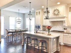 Kitchen/nook layout.