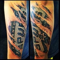 1000 images about sa spurs on pinterest san antonio for Best tattoo place in san antonio