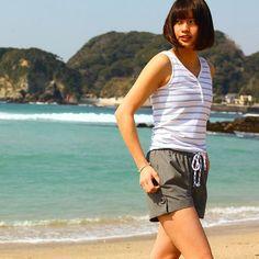 swimwear for casual style. - - #safstokyo #swimwear #beachwear #beachlife #beachgirl #surfwear #surfstyle #summer #summertime #lifestyle #slowlife #lovelife #california #sandiego #encinitas #lajolla #malibu #huntingtonbeach #newportbeach #夏 #夏コーデ #海 #海コーデ #海のある生活 #ビーチウエア #ビーチフォト #ビーチスタイル #サーフィン #サーフパンツ #サーフィン女子 #lajollalocals #sandiegoconnection #sdlocals - posted by MO SAFS BANNO  https://www.instagram.com/safs_banno. See more post on La Jolla at http://LaJollaLocals.com