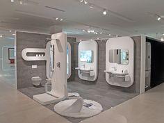 Noken, la marca de Porcelanosa en equipamiento de baño: arquitectura y diseño de baños contemporáneos #lavabos #griferías de #baño #duchas #sanitarios
