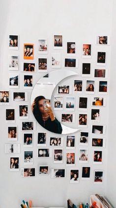 80 Dorm Room Inspiration Decor Ideas texasls org dormdecor dormroomideas dormroominspiration is part of Room decor - Cute Room Decor, Teen Room Decor, Room Ideas Bedroom, Diy Bedroom, Bedroom Small, Girls Bedroom, Bedroom Inspo, Picture Room Decor, Photos In Bedroom