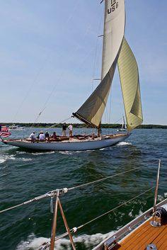 Classic 12 Meter Sailing