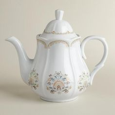 Host an elegant tea party with our Downton Abbey Teapot and recreate the refinement of the popular television series in your own home. Featuring our own exclusive design, this ornate porcelain teapot is a perfect holiday gift for any avid fan.