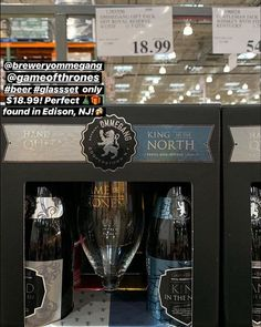 """9d73ff486ef COSTCO DEALS on Instagram  """"🍺 breweryommegang  gameofthrones  beer   glassset only  18.99! Perfect 🎄🎁 found in Edison"""