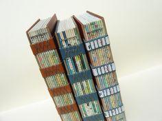 Upcycled World Book Encyclopedia Journal by greentrikepress