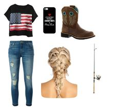 """Maddie & Tae inspired outfit"" by bricunninghambryan on Polyvore featuring MICHAEL Michael Kors, Chicnova Fashion, Ariat and Casetify"