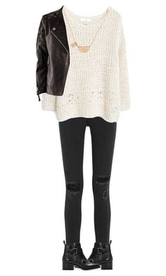 """""""Untitled #157"""" by perrieedwardshippie on Polyvore featuring rag & bone, MANGO, H&M and Zara"""