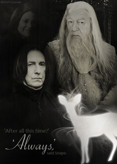 """4 best words of the series:  """"After all this time?""""  """"Always."""""""